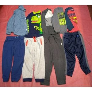 Used Toddler Boys 4T Winter Clothes Lot